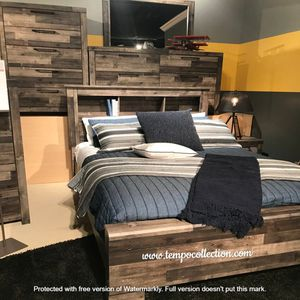 NEW IN THE BOX.BEDROOM SET: QUEEN BED +DRESSER+NIGHTSTAND SKU#TCB200-SET for Sale in Fountain Valley, CA