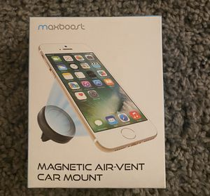 Maxboost Car Mount, [2 Pack] Universal Air Vent Magnetic Phone Car Mounts Holder for iPhone 11 Pro Xs Max XR X 8 7 Plus 6S SE, Galaxy S10 S10e 5G S9, for Sale in Las Vegas, NV