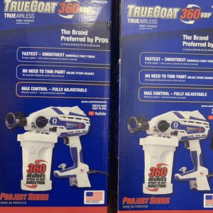 """Graco True Airless Paint Sprayer TRUECOAT 360 VSP New $175 EACH"""" Final Price Thanks for Sale in Downey, CA"""