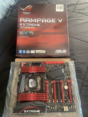 Asus rampage v extreme motherboard + 32 gb Ram!! for Sale for sale  Miami, FL