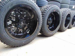 NEW 22X12 RBP Gloss Black Rims & LT 325 50 22 Atturo X/T Tires *8X180* for Sale in Aurora, CO