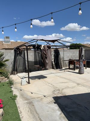 Canopy frame 10x13. Tarp needs repairs for Sale in Yuma, AZ