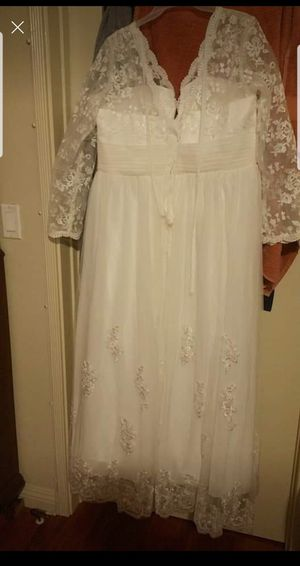 Wedding dress never worn for Sale in Los Angeles, CA