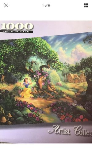 Rare Unopened Artist Collection Mattel du Bois Disney Snow White Magical Forest Puzzle for Sale in Hampton, VA