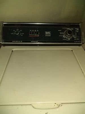 Washer and dryer dryer is electric and gas for Sale in Wichita, KS