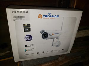 Trivision wireless camara - pullet proof, water proof. New open box for Sale in Reading, PA
