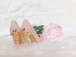 ✨GORGEOUS✨ Blush Pink Pointed Heels for Sale in Rochester, MN