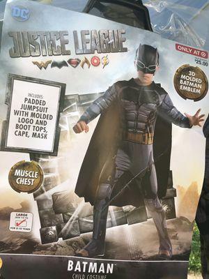 Batman costume size 12-14 New for Sale in Elgin, IL