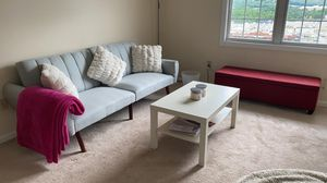 Light grey couch for Sale in Morgantown, WV