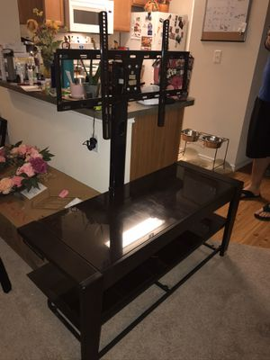 Mounted Glass Tv Stand for Sale in Heath, TX