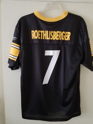 Ben Roethlisberger Pittsburgh Steelers NFL youth jersey sixe XL for Sale in Damascus, MD