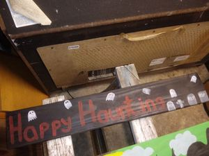 Wood halloween decoration for Sale in New Port Richey, FL