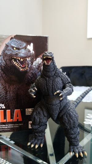 Bandai Tamashii Nations S.H. MonsterArts Godzilla 1995 Birth Ver Action Figure for Sale in Old Bridge, NJ