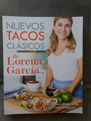 Nuevos tacos clásicos de Lorena García (Spanish Edition) for Sale in Miami Beach, FL