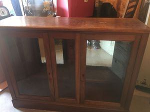 Antique Display Cabinet for Sale in Vancouver, WA