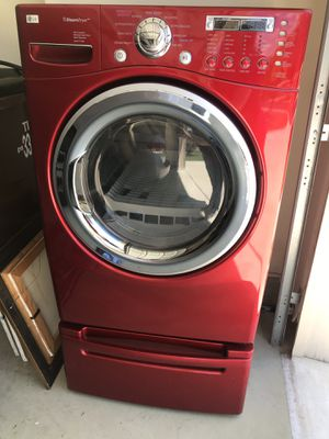 LG Steam Dryer w/Pedestal for Sale in Helotes, TX