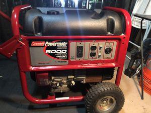 Powermate 6250 stating watt generator. for Sale in Coral Springs, FL