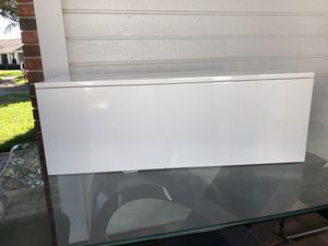 White and Black Wall Mounted Shelves for Sale in Belle Isle, FL