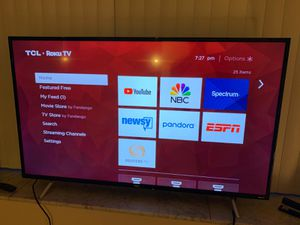 "TCL 55"" Smart Roku TV for Sale in Los Angeles, CA"