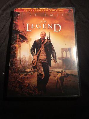 2008 I am Legend Will Smith FULL SCREEN EDITION - DVD Used Condition for Sale in La Habra, CA
