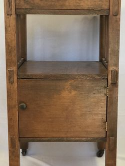 Arts And Crafts Cabinet Table Stand Seattle for Sale in Seattle,  WA