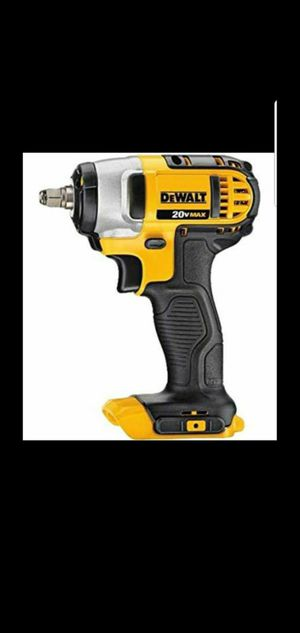 DEWALT 20-VOLT MAX LITHIUM ION CORDLESS 3/8 IN IMPACT WRENCH (TOOL ONLY) for Sale in San Bernardino, CA