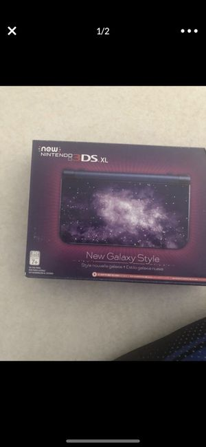 New in box Nintendo 3DS XL with 8 games and carrying case for Sale in Aloha, OR