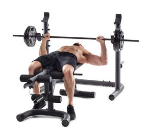 BNIB XRS 20 Squat Rack / Weight Bench Press Workout Set for Sale in Rancho Cucamonga, CA