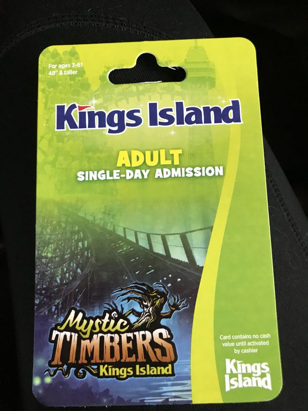 Kings Island Ticket For In