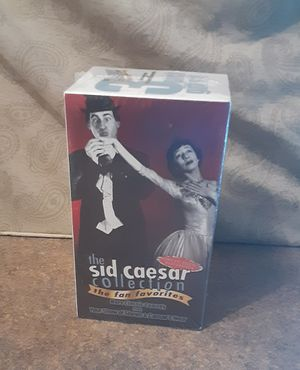 The Sid Caesar Collection VHS Boxed Set - New/Sealed for Sale in Fox Lake, IL