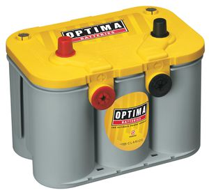 (Yellow top)Optima gel car battery for Sale in Orem, UT
