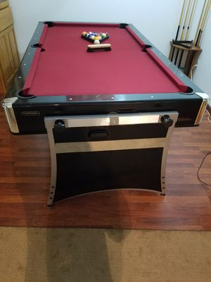 HARVARD 3 in 1 game table. Pool, air hockey and ping pong!! for Sale in Minnetrista, MN