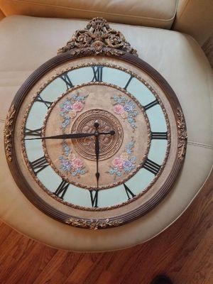 Vintage Wall Clock for Sale in Manassas Park, VA