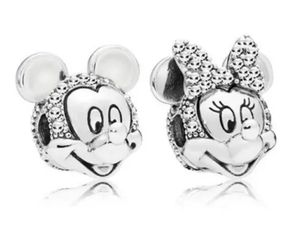 Mickey and Minnie mouse Handmade European charm set for Sale in Wichita, KS