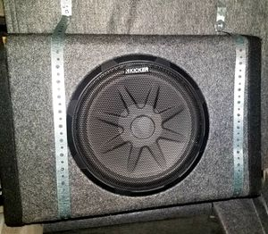 """Kicker 10"""" Subwoofer and Amplier Combo for Sale in Mill Creek, WA"""