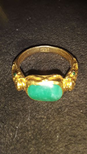 24k gold ring for Sale in Fallbrook, CA