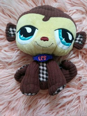 Lps monkey plushie for Sale in Denver, CO