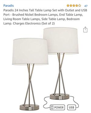 Table lamp for Sale in Ontario, CA