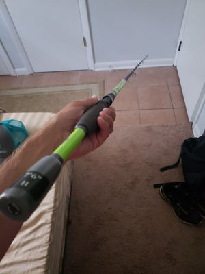 """Bass pro shops tourney special rod 7""""6 heavy action for Sale in Indianapolis, IN"""