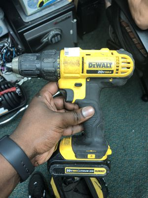 Drill, Tools-Power Dewalt W/Battery No Charger.. Negotiable for Sale in Baltimore, MD