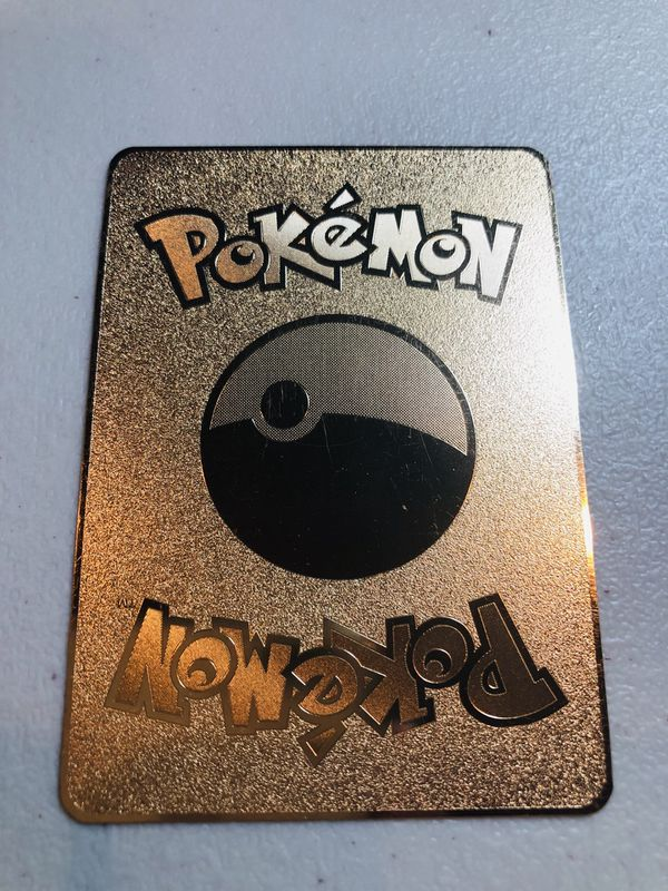 CHARIZARD POKEMON METAL CARD
