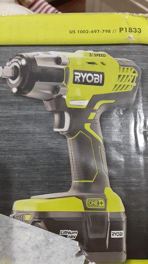Ryobi impact gun for Sale in Roselle, IL