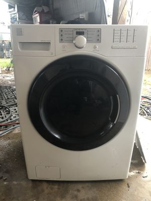 Washer kenmore super capacity plus whit warranty $220 obo for Sale in Phoenix, AZ