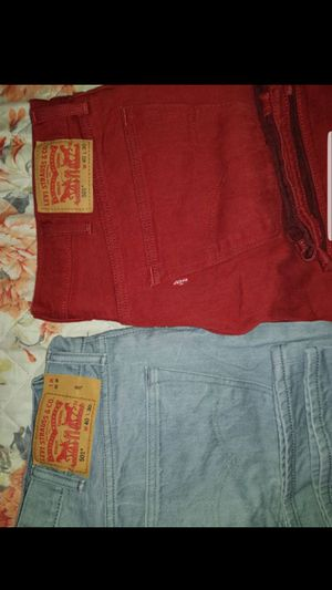 """2 Levi strauss sizes 40 x30"""" for Sale in San Jose, CA"""