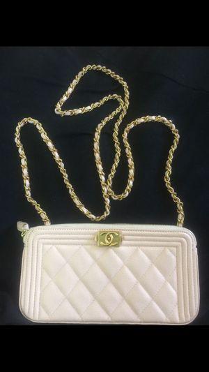 Authentic Chanel WOC boy clutch bag for Sale in Escondido, CA