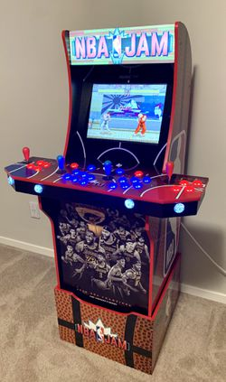 Custom 3000 games NBA JAM Lakers & TMNT Arcade Video Game MAME Arcade1up for Sale in Vancouver,  WA
