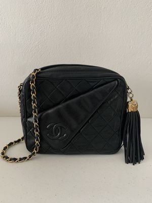 Chanel Vintage Front Pocket Camera Bag Quilted Lambskin Small for Sale in Fort Lauderdale, FL