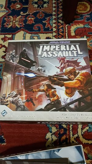 Star Wars Imperial Assault Board Game for Sale in Tooele, UT