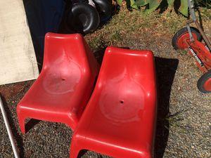IKEA - kids plastic Adirondack chairs (2) for Sale in San Diego, CA