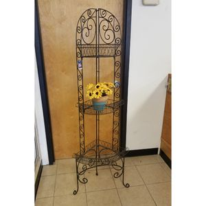 3-Tier Wrought Iron Corner Shelf for Sale in WARRENSVL HTS, OH